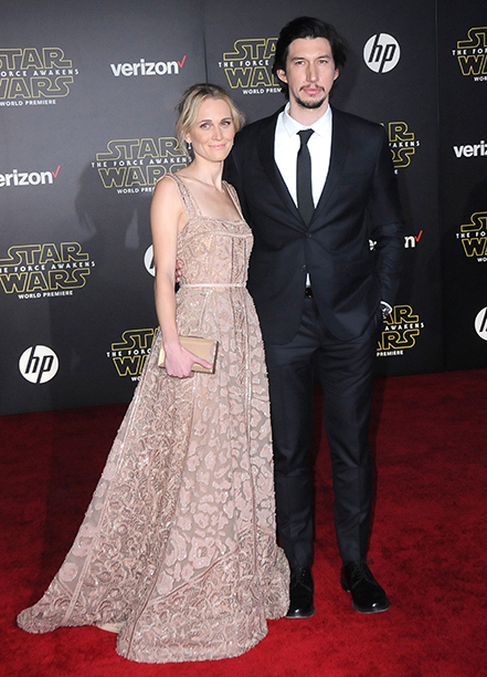 Joanne Tucker and Adam Driver