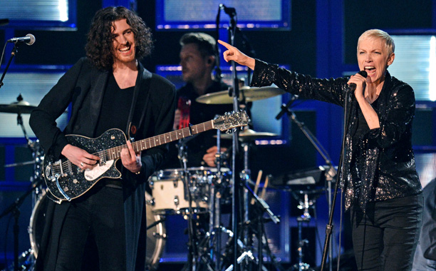 "Hozier and Annie Lennox, ""Take Me to Church"" and ""I Put A Spell on You"""