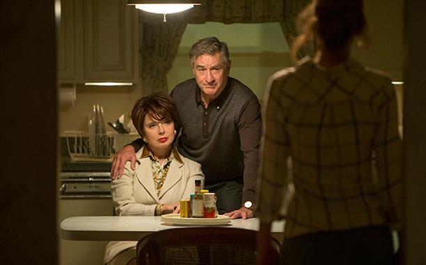 9. Robert De Niro Arrives in Joy