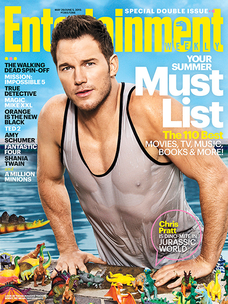 When He Became EW's Dino-Mite Cover Star