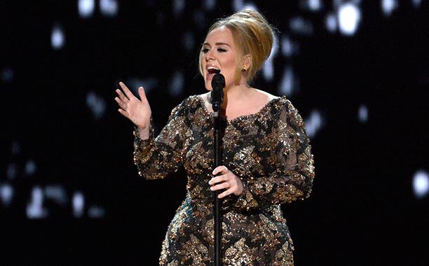 Adele at Radio City Music Hall