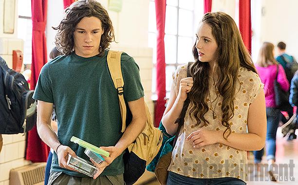Hawk Lane (Kyle Allen) and Ashley Fields (Amy Forsyth)