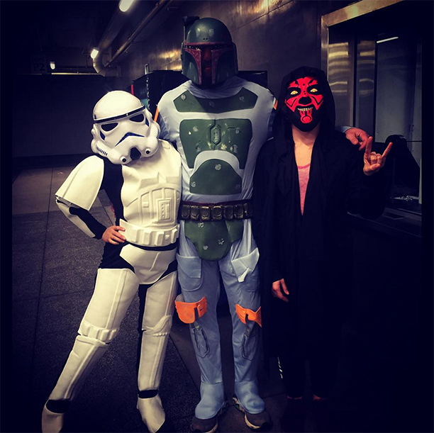 Ronda Rousey as a Stormtrooper