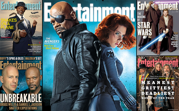 Samuel L. Jackson on the Cover of Entertainment Weekly