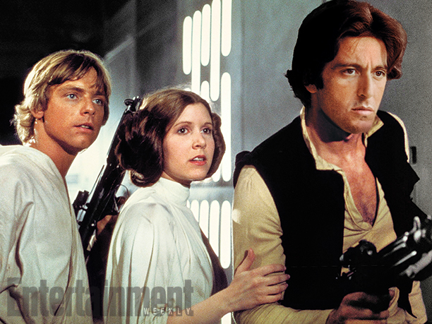 What if Al Pacino had played Han Solo in 'Star Wars'?