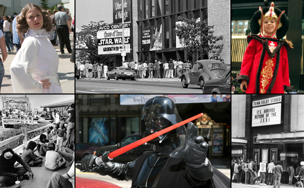 'Star Wars' Mania, Then and Now