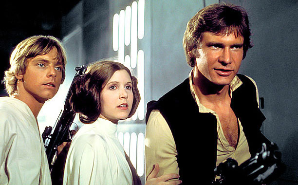 Director: George Lucas Stars: Mark Hamill, Harrison Ford, Carrie Fisher, Alec Guinness 121 mins., rated PG You've prepared your child with imagination-building fantasy: Now it's…