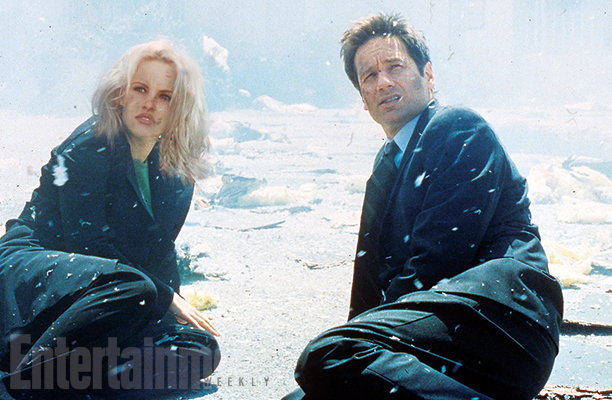 What if Pamela Anderson had played Dana Scully on The X-Files?