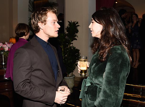 Alfie Allen and Carice van Houten