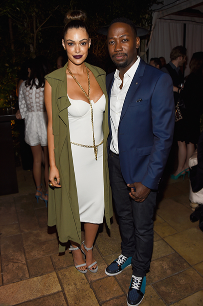 Anabelle Acosta and Lamorne Morris