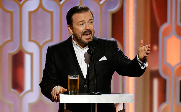Ricky Gervais Goes Wild