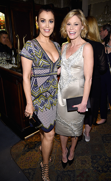 Bellamy Young and Julie Bowen