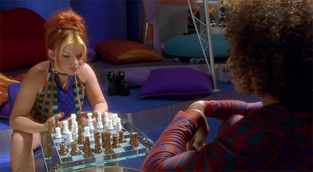 40. Ginger and Scary Play Chess