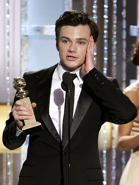 Chris Colfer, Golden Globes | ''To all the amazing kids that watch our show. And the kids that our show celebrates, who are constantly told no by the people in…