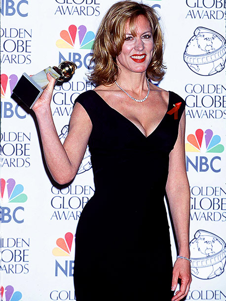 Christine Lahti, Golden Globes | Christine Lahti had to be fetched from the ladies' room to claim her Best Actress in a TV Drama prize (for Chicago Hope ). Cracked…