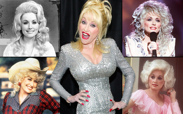 Dolly Parton Through the Years