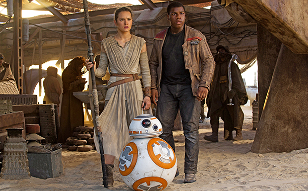 Star Wars: The Force Awakens for Best Picture