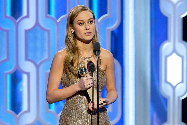 Brie Larson, Best Actress in a Drama, Room