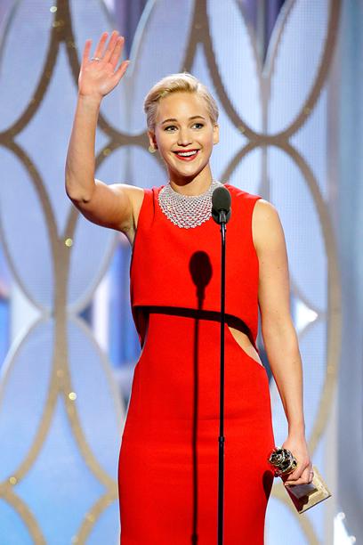 Jennifer Lawrence, Best Actress in a Comedy, Joy