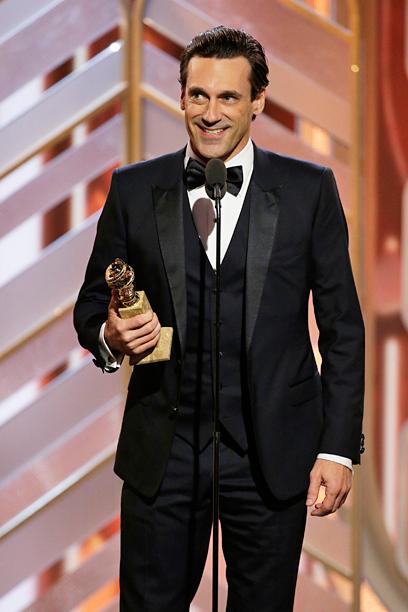 Jon Hamm, Best Actor in a TV Drama, Mad Men