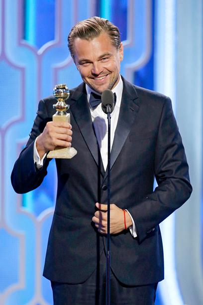 Leonardo DiCaprio, Best Actor in a Drama, The Revenant