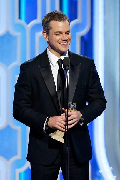 Matt Damon, Best Actor in a Musical or Comedy, The Martian