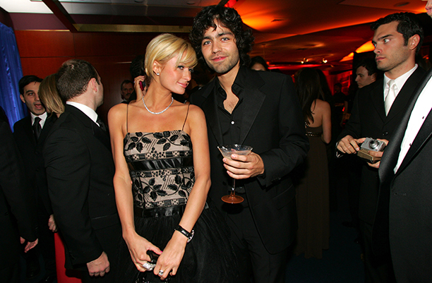 Paris Hilton and Adrian Grenier