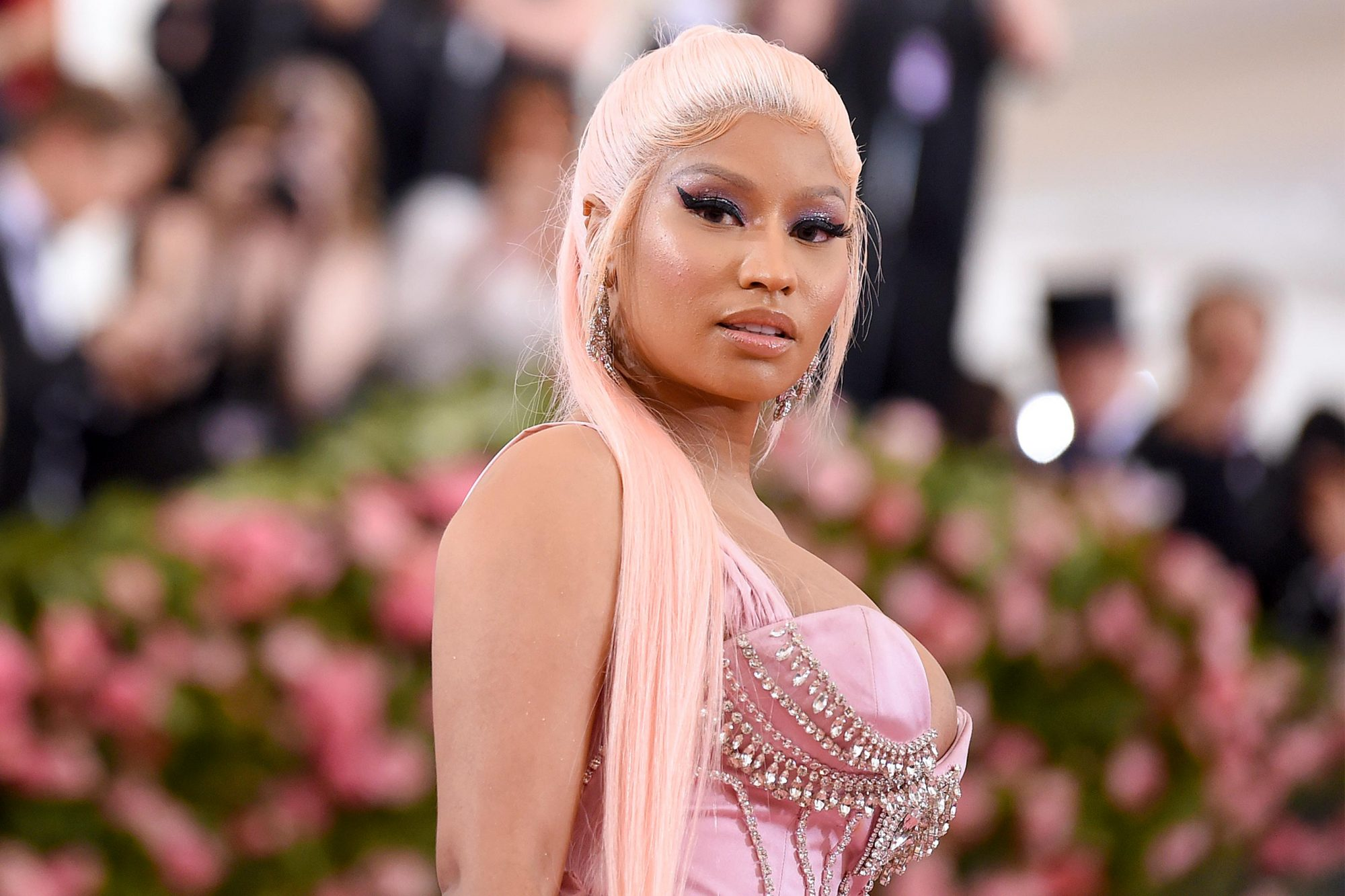 NEW YORK, NEW YORK - MAY 06: Nicki Minaj attends The 2019 Met Gala Celebrating Camp: Notes on Fashion at Metropolitan Museum of Art on May 06, 2019 in New York City. (Photo by Jamie McCarthy/Getty Images)