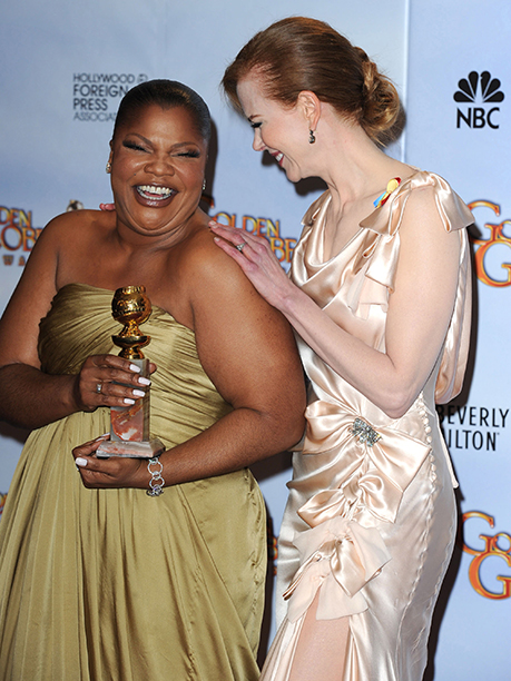 Mo'Nique and Nicole Kidman