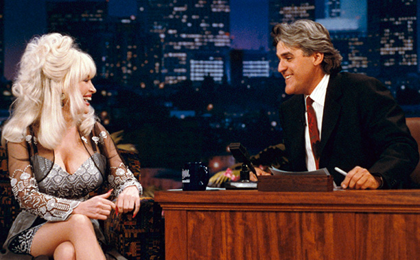 August 1995 on The Tonight Show With Jay Leno