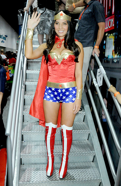 Olivia Munn as Wonder Woman