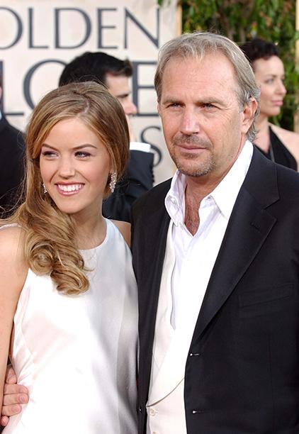 2004: Lily Costner, Daughter of Kevin Costner and Cindy Costner
