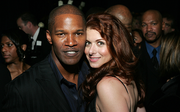 Jamie Foxx and Debra Messing