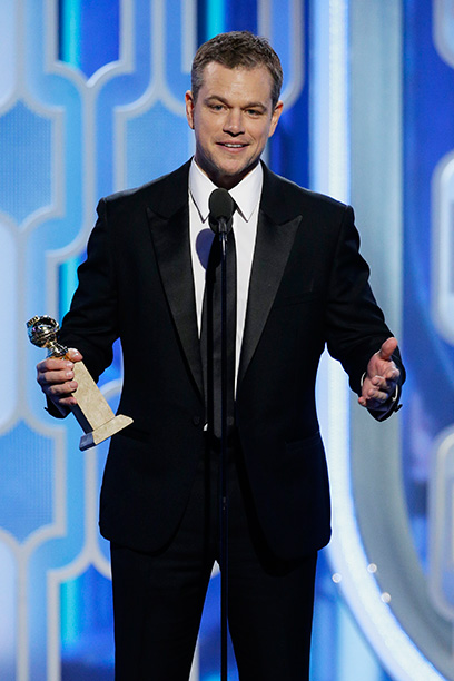 Matt Damon Laughs at Ben Affleck's Expense