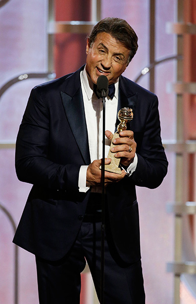 Sylvester Stallone Steals the Show