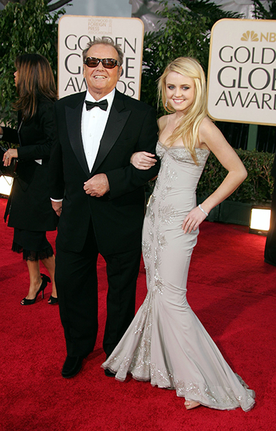 2007: Lorraine Nicholson, Daughter of Jack Nicholson and Rebecca Broussard