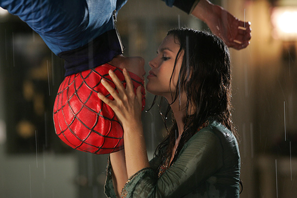 Adam Brody as Seth Cohen as Spider-Man in The O.C.