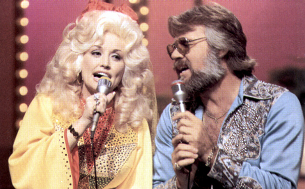 Circa 1983 With Kenny Rogers
