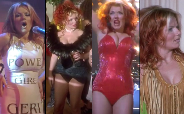 12. Ginger Spice's outfits