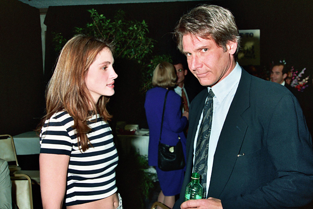 Julia Roberts and Harrison Ford at ShoWest in Las Vegas