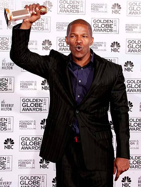 Jamie Foxx, Golden Globes | Some two hours into a disappointingly tame Globes telecast, and suddenly there was Jamie Foxx bringing a much-needed spark to the proceedings. His beautiful, meandering…