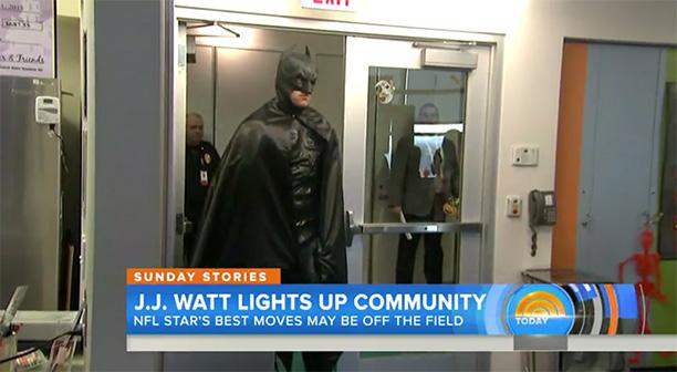 J.J. Watts as Batman