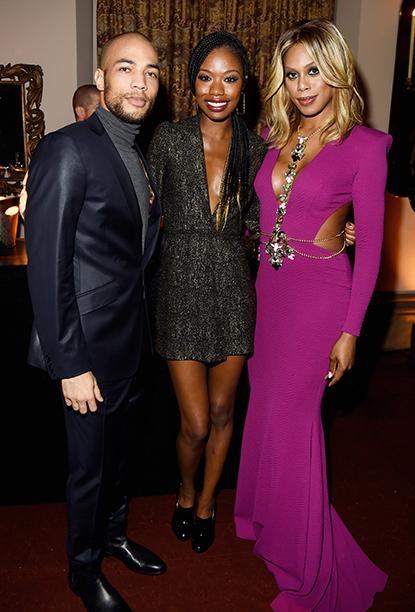Kendrick Sampson, Xosha Roquemore, and Laverne Cox