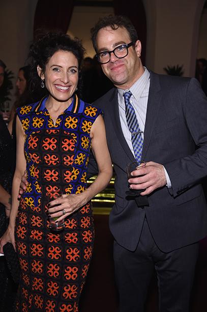 Lisa Edelstein and Paul Adelstein