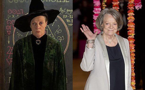 Maggie Smith (Professor Minerva McGonagall)