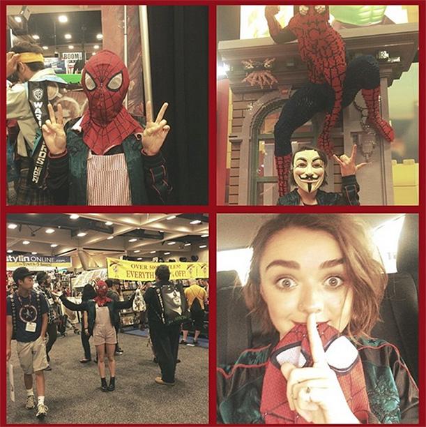 Maisie Williams as Spider-Woman