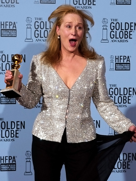 Meryl Streep, Golden Globes | ''I've just been nominated 789 times, and I was getting so settled in over there for a long winter's nap.'' —Best Actress in a Supporting…