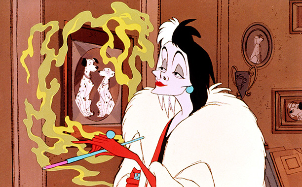 Cruella de Vil, 101 Dalmatians