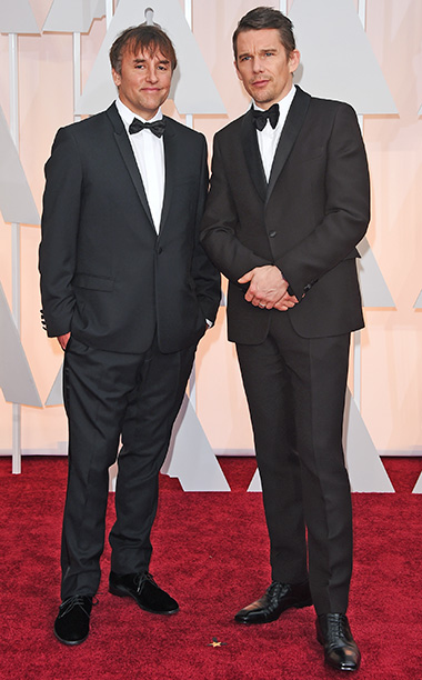 Richard Linklater and actor Ethan Hawke