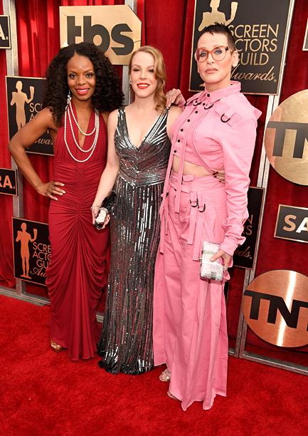 Marsha Stephanie Blake, Emma Myles and Lori Petty